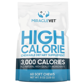 Miracle Vet Weight Gaining Chews (3,000 calories per bag)