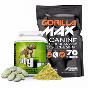 Bully Max Muscle Builder & Gorilla Max Muscle Builder